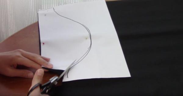 kawaii kaizoku 13 e1534985065174 - 【無料型紙付き】ハロウィン 100均のフェルトで海賊の手作り衣装の作り方動画【男の子仮装】