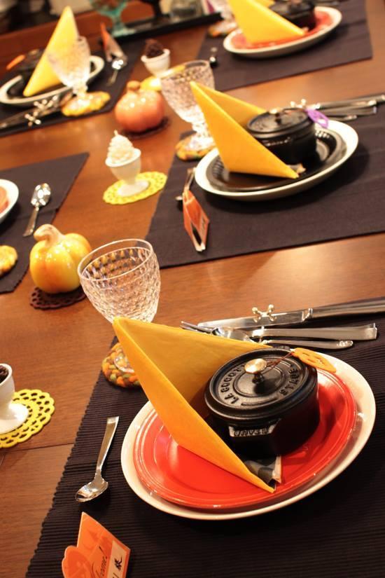 o0550082513468833009 - ハロウィンのテーブルコーディネートに使える席札&レシピフォーマット☆