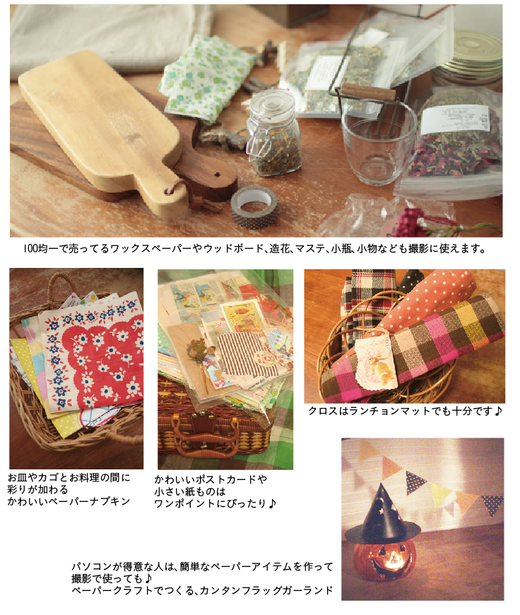 photolesson 19 - 【可愛いお料理写真の撮り方Lesson】カワイイをつくろう!編