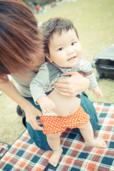 halloween baby photo party 06 - カメラを持って新宿御苑♪ 赤ちゃん連れで秋のハロウィンピクニックにでかけよう!