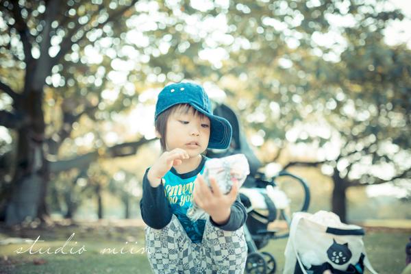 halloween baby photo party 11 - カメラを持って新宿御苑♪ 赤ちゃん連れで秋のハロウィンピクニックにでかけよう!