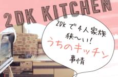 【賃貸暮らし】うちの狭いキッチンの収納棚