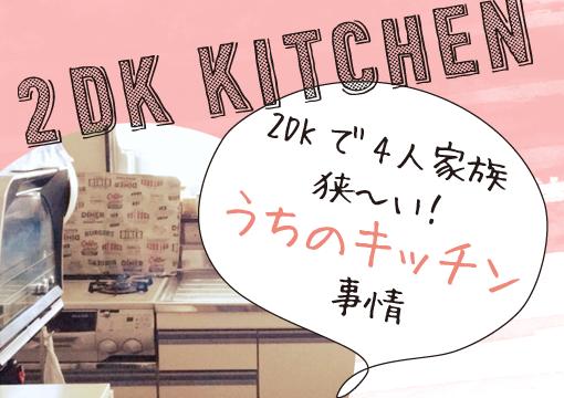 2dk kitchen 510x360 - 【賃貸暮らし】うちの狭いキッチンの収納棚