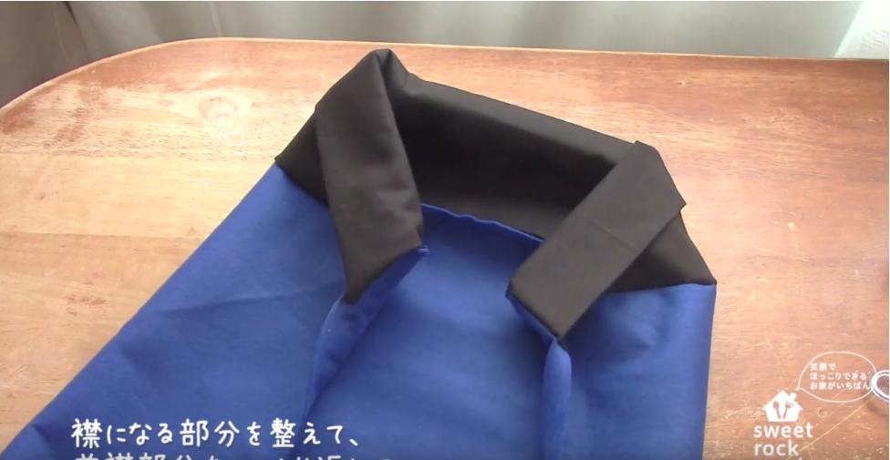 rupan make 10 - 【戦隊モノ】100均フェルトでルパンレンジャーの衣装の作り方