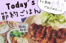 [Today's 節約ごはん]揚げ鶏甘辛だれ 〜鶏肉レシピといえばしゃなママ本!〜